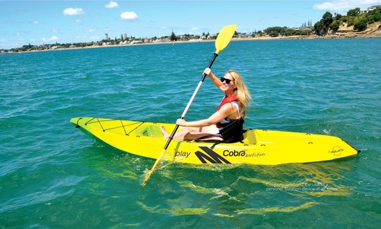Kayak Rental For 1 In South Padre Island