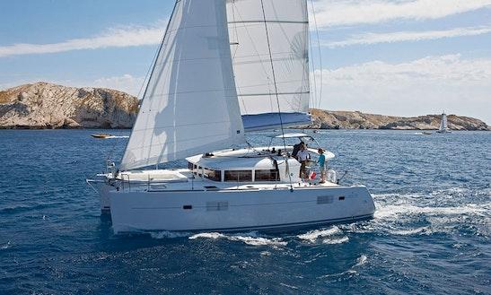 Lagoon 400 Sailing Catamaran Charter In Ayamonte
