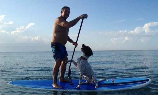 Stand Up Paddleboard Lesson In Boca Raton