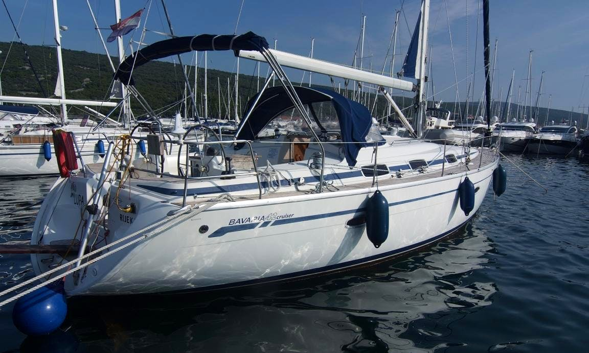 Bavaria 42 Cruiser - Lupa in Punat