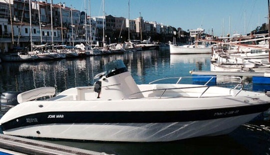 Enjoy Aquamar 615 Motor Boat In Ciutadella De Menorca, Spain