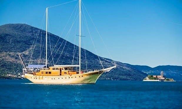Kaya Gunery II Gulet rental in Montenegro and South Dalmatia