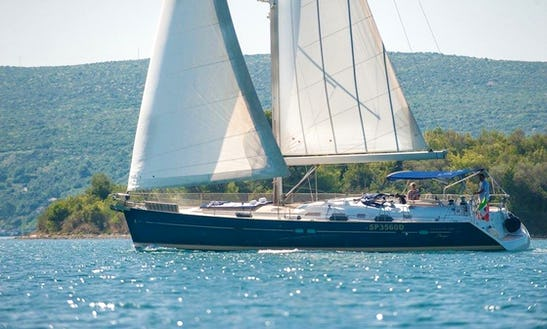 Beneteau Oceanis Clipper 523 Around South Adriatic Coast