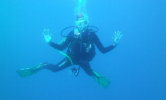 Try Scuba Diving In Lloret De Mar