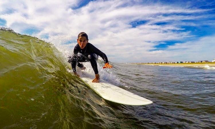 Surf Board Rental & Surfing Lessons in Surf City