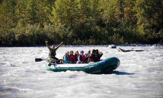 Raft Floating Trips In Anchorage