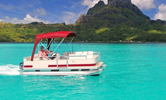 16ft Pontoon, Rental In Bora-bora