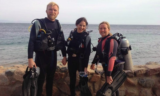 Fun Diving Trips With Experienced Idc Staff Instructors In Dahab, Egypt
