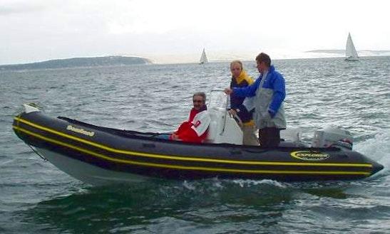 Bombard Explorer 550 Rib Rental In Concarneau