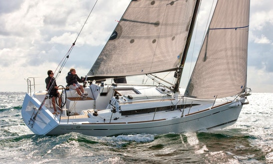 First 35 Sailing Monohull Charter In Concarneau
