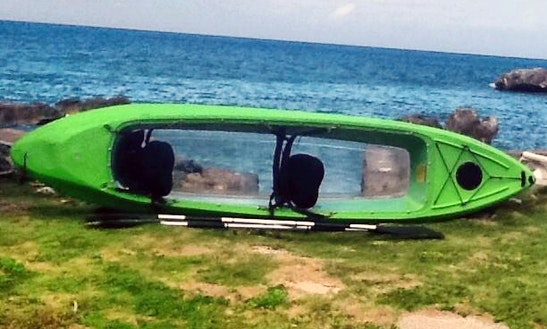 Clear-bottom 2-person Kayak Rental In Jamaica