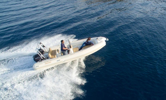 Mostro 581 Offshore Rib Rental In Ithaki