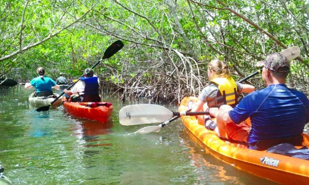 guided kayaking tours on stock island florida getmyboat