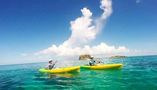 Discover The Bay Kayak Tour In Grand-case