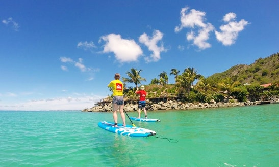 Stand Up Paddle Sunset Tour In Grand-case