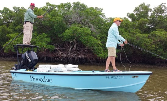 Guided Fishing Charter On
