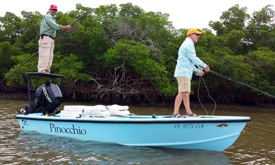"Guided Fishing Charter on ""Pinocchio"" From Marco Island, Florida"