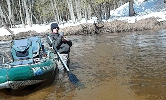 Bass Boat Fishing Trips In Norman Township, Michigan
