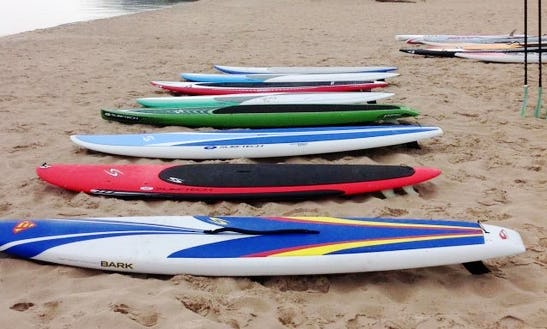 Surf Board Rental & Pickup In Benzonia Township