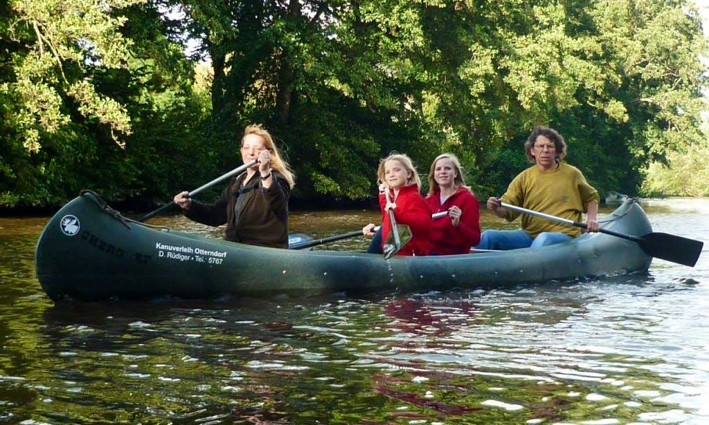4-Person Canoe Hire in Otterndorf