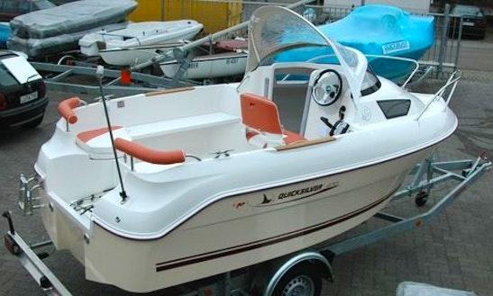 Hanne3 15hp Boat Rental In Fehmarn