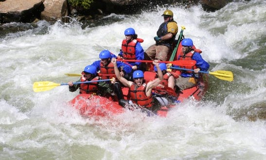 Whitewater Rafting On The Blue River
