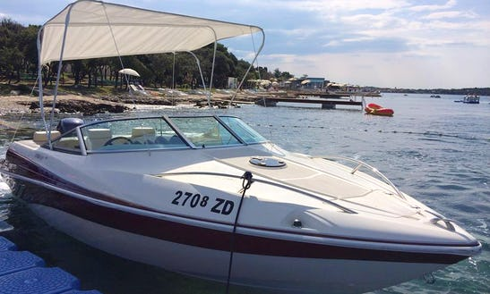 Cortina 620 Cuddy Cabin Boat Hire In Croatia