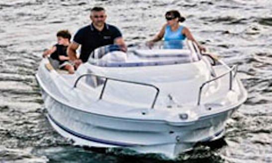 Quicksilver I470 Cabin Boat For Rent In Großenbrode, Germany