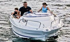 Quicksilver I470 Cabin Boat for Rent in Großenbrode, Germany