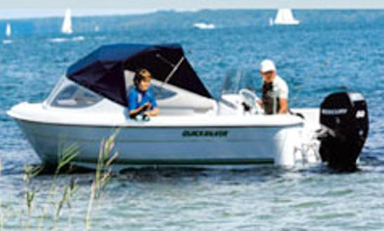 Hire The 4 Person Quicksilver 500 Fish Boat In Großenbrode, Germany