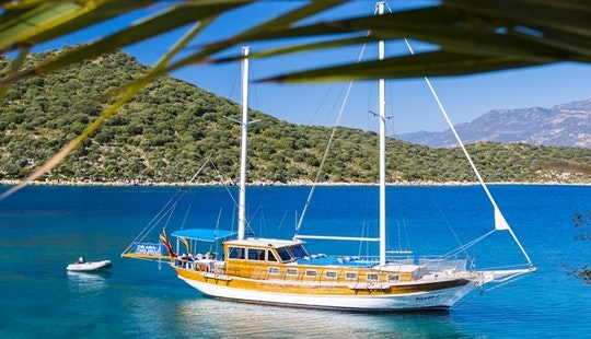 Private Yacht Charter In Kas