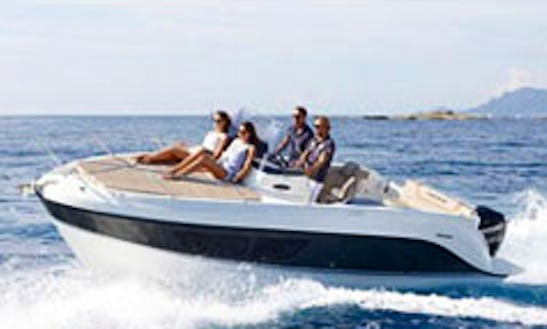 Rent Quicksilver 605 Sundeck Boat For 4 Person In Großenbrode, Germany