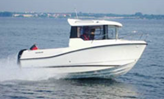 Rent A Quicksilver 605 Pilothouse For 6 Person In Großenbrode, Germany