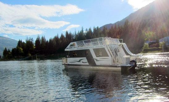 Mirage 56 Houseboat Rental In The Shuswap Lake Getmyboat