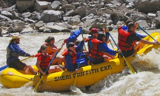 River Rafting On Westwater Canyon