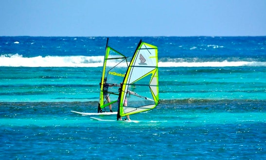 Windsurfing Lesson In Saint Martin