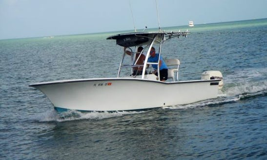 26' Fish Natique Fishing Charter For 4 Person In Port Canaveral, Florida