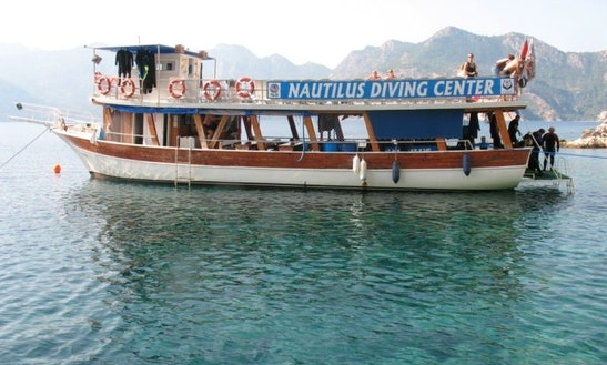 Nautilus Diving Boat In Mugla