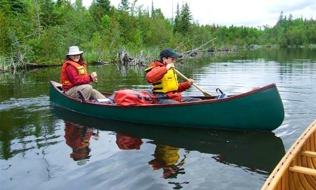 13' Canoe Rental in Camden