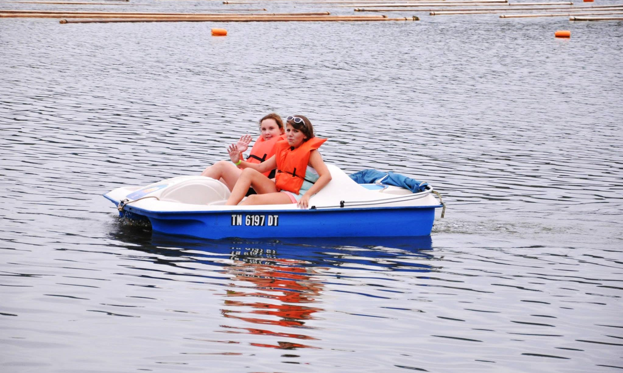 2-Seats Paddle Boat Rental in Camden