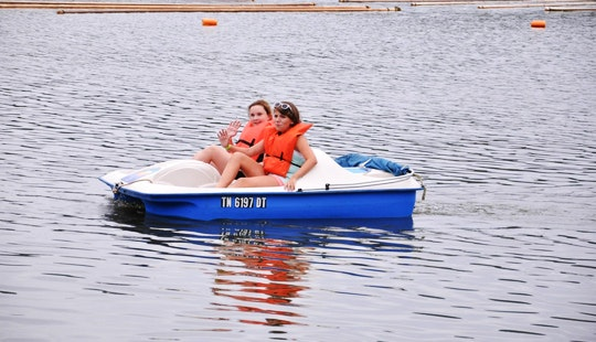 2-seats Paddle Boat Rental In Camden