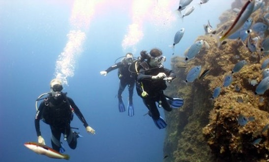 Learn The Basic Of Scuba Diving In Santorini, Greece