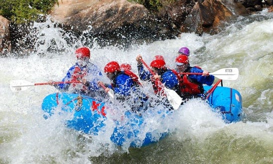 Whitewater Rafting The Colorado River