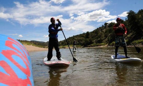 Stand Up Paddleboard Adventure In Frisco, Colorado