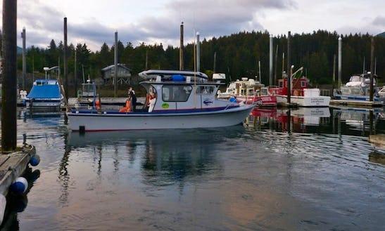 30ft Trawler Boat Charter In Seldovia, Alaska