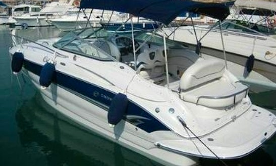 Hire The Crowline 250 Cr Motor Cruiser In Alcúdia