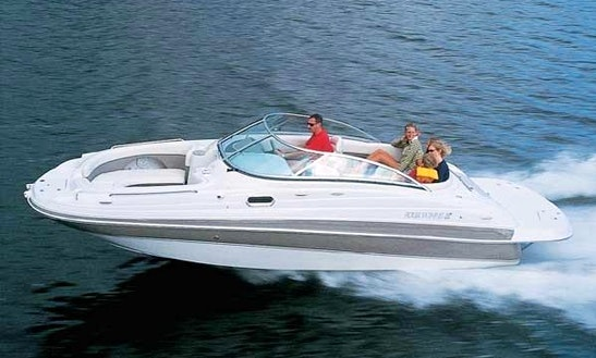 Rent The Four Winns 214 Motor Boat In Alcúdia
