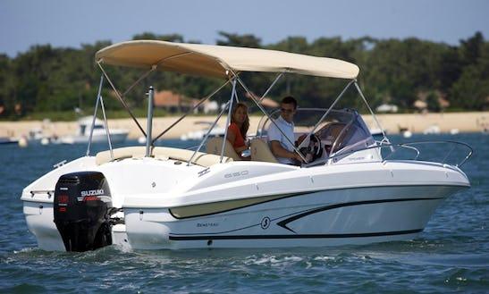Rent The Beneteau Flyer 650 Motor Boat In Alcúdia
