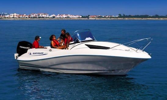Rent The 21' Quicksilver Commander Boat In Alcúdia