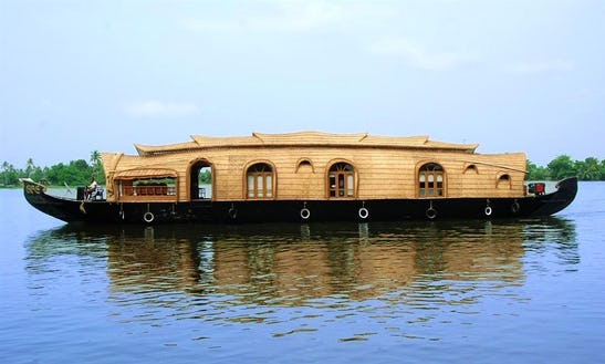 Beautiful Houseboat With Two Bedroom Available To Rent In Alappuzha, India